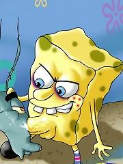 Spongebob Hunts Pussy