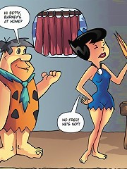 Hung Bastard Fred From The Flintstones Licks Betty