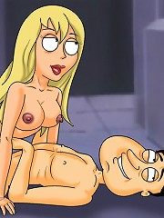 Peter And Quagmire Gangbang Hot Blonde Gillian